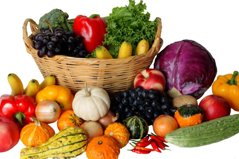 Wallpapers Wicker basket Food Vegetables 3005x1780