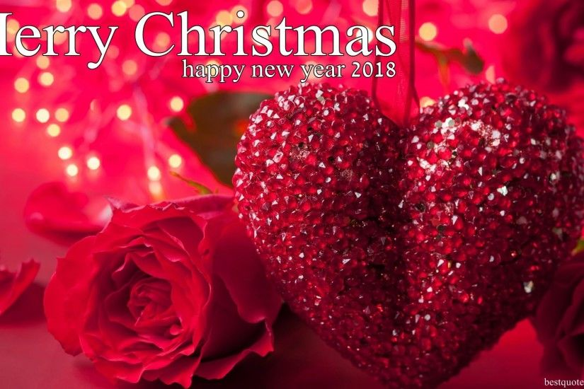 Happy New Year 2018 Merry Christmas Festival Love HD Photos