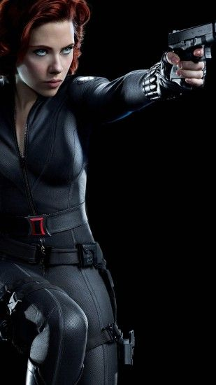 Black Widow - The Avnegers Wallpaper
