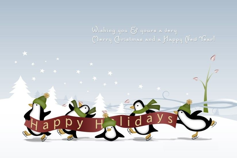... happy winter and christmas holidays wallpapers cool images .
