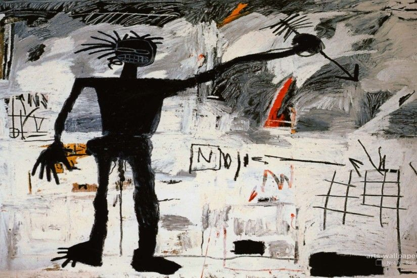 jean-michel basquiat artwork | Jean Michel Basquiat Wallpaper 01