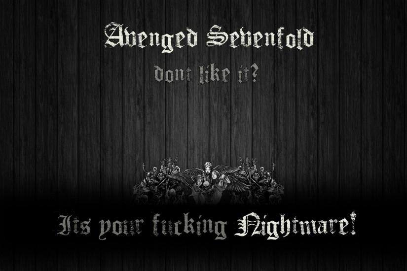 Free Avenged Sevenfold Free HD Widescreen Wall #4810 Wallpaper .