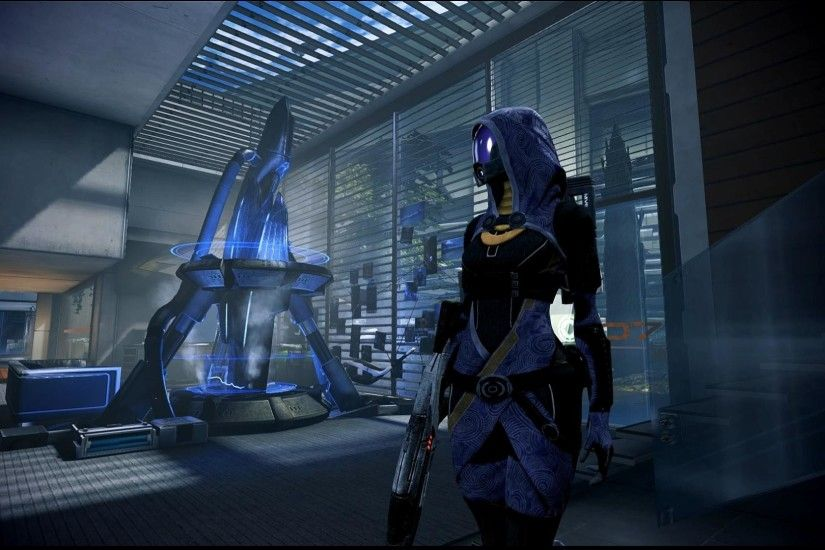... Mass Effect 3 Tali in Bryson's Office Dreamscene by droot1986