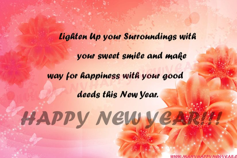 Happy New Year 2018 Wishes Quotes Images For Whatsapp Facebook