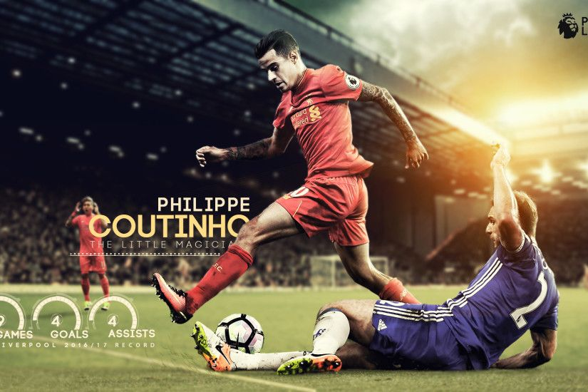... Philippe Coutinho - The little magician by nirmalyabasu5