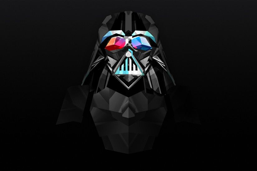 Abstrakt - Facets Star Wars Darth Vader Bakgrund