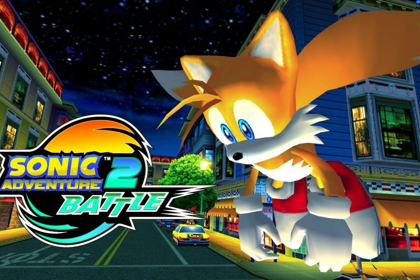 Sonic Adventure 2: Battle - Mission Street - MECHLESS TAILS [REAL Full HD,  Widescreen] 60 FPS - YouTube