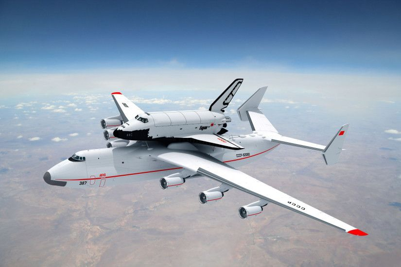 10 antonov AN-225 mriya HD Wallpapers | Backgrounds - Wallpaper Abyss ...