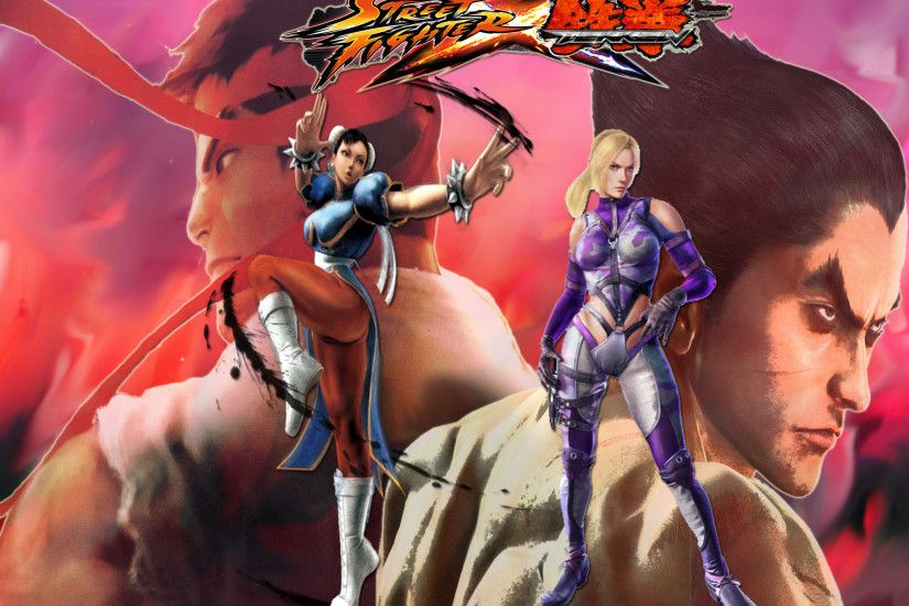 Street Fighter vs Tekken 1 by fightersnetwork