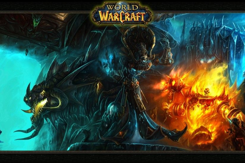 Preview wallpaper world of warcraft, monsters, characters, game 1920x1080