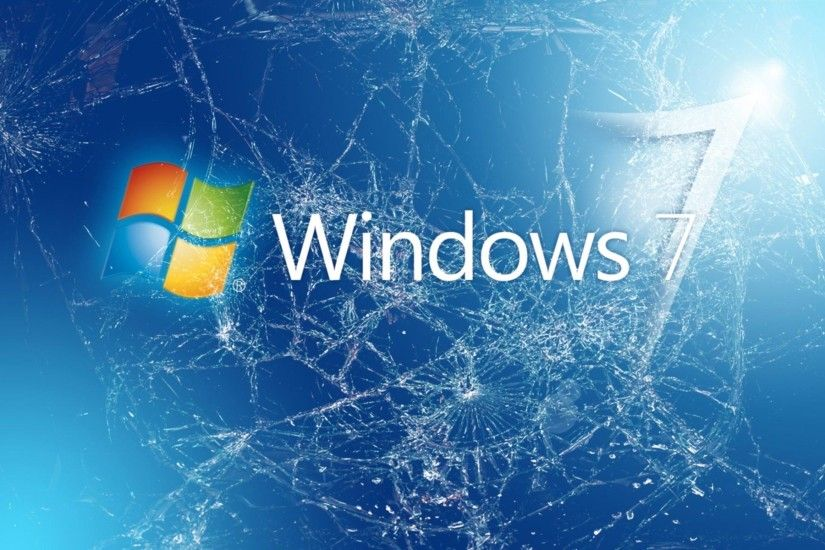 Windows 7 Broken Wallpapers Picture