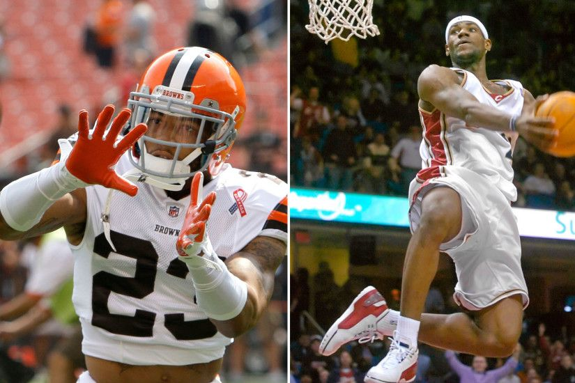 Browns' Joe Haden accepts challenge vs. LeBron's Cavs in race for Cleveland  title | NFL | Sporting News
