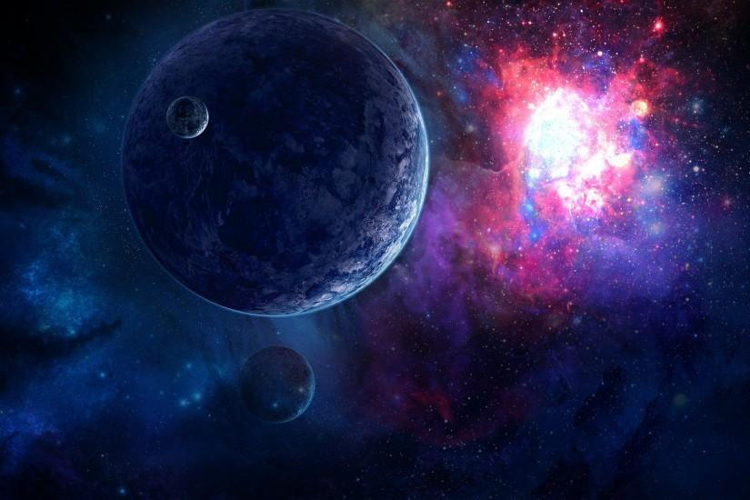 Space wallpaper 1920x1080 without lower planet by danielbemelen on .