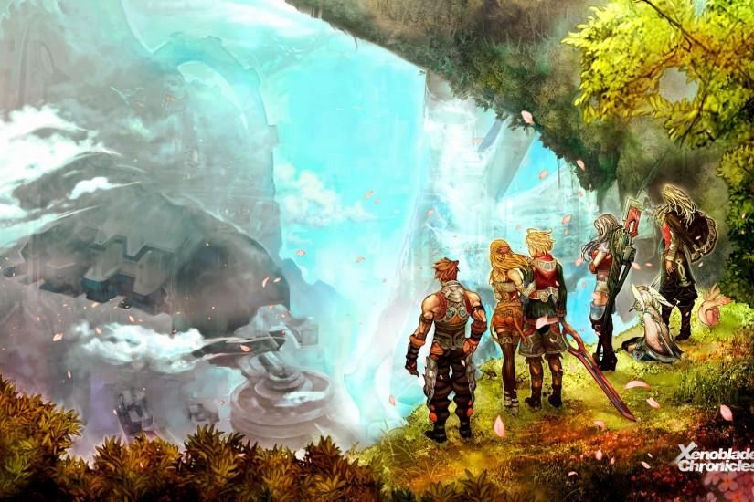 large xenoblade chronicles 1920x1080 wallpaper 1920x1080 hd