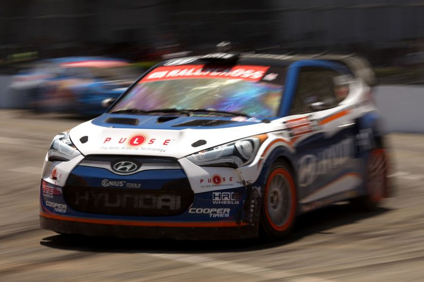 Hyundai Rally Cross Car