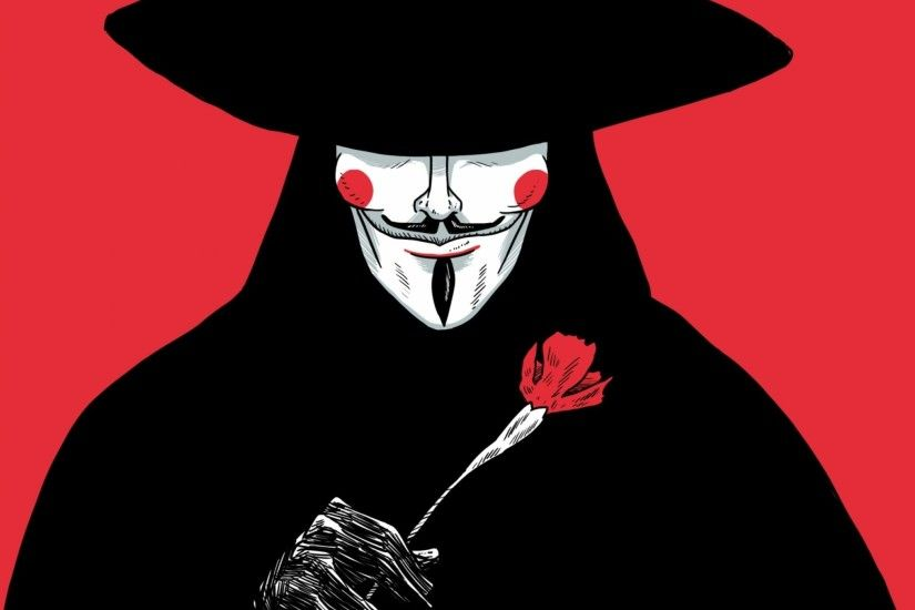 V For Vendetta iPad Wallpaper HD #iPad #wallpaper