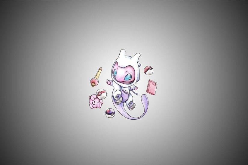 Cutest Mew's wallpaper ever!