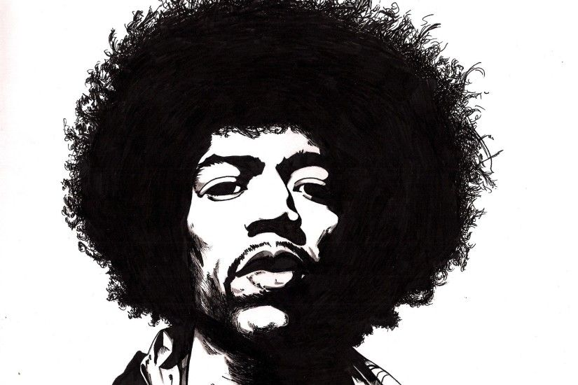Awesome Jimi Hendrix HD Wallpaper Free Download