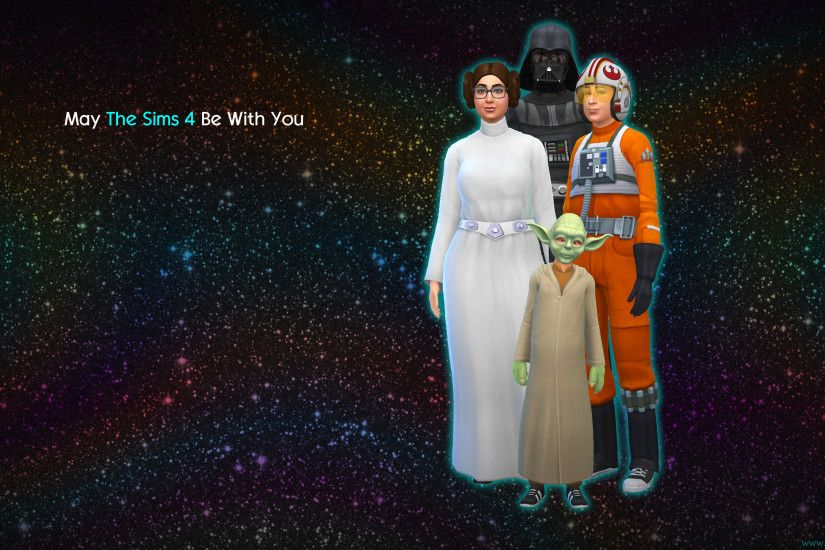 Wallpapers: May The Sims 4 Be With You wallpapers