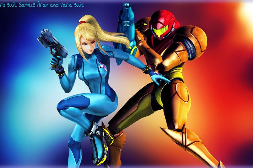 ... Metroid Samus Aran Zero Suit and Varia Suit by FireFox4X
