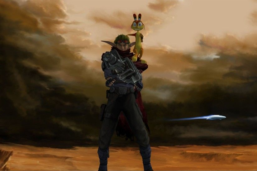 Jak and Daxter wallpaper by calibur222 Jak and Daxter wallpaper by  calibur222