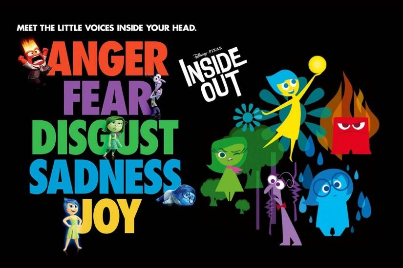 Inside Out - Anger, Fear, Disgust, Sadness & Joy - 1920x1080 - Full