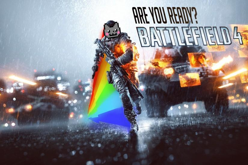 ... Nyan cat is ready to fight by Unkn0wnPlayer