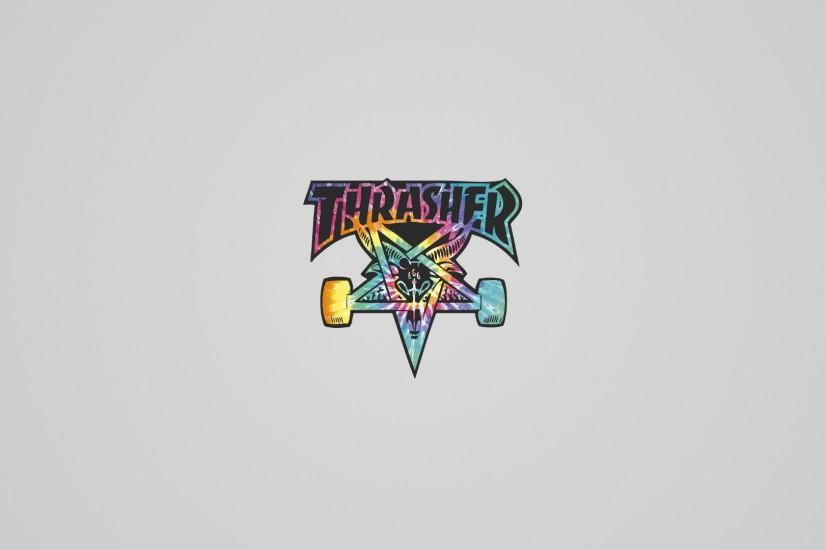 Thrasher Tie Dye Wallpaper by JoakimRiise Thrasher Tie Dye Wallpaper by  JoakimRiise