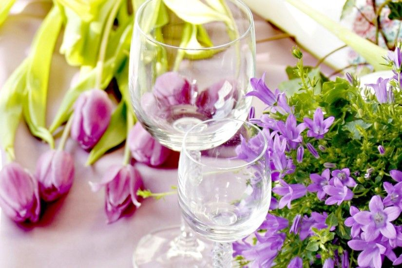 Romance Tag - Tulips Still Life Glass Flowers Beautiful Love Glasses  Romance Tulip Pretty Photography Nature