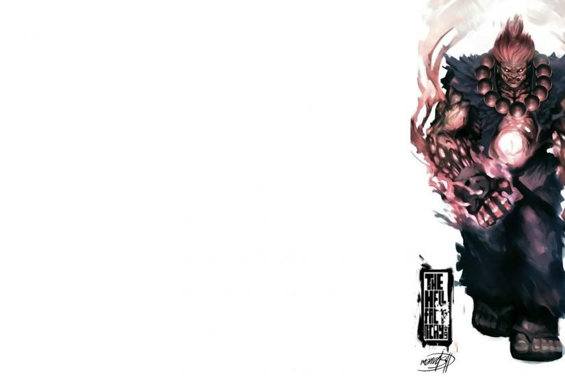 Akuma Street Fighter HD Background.