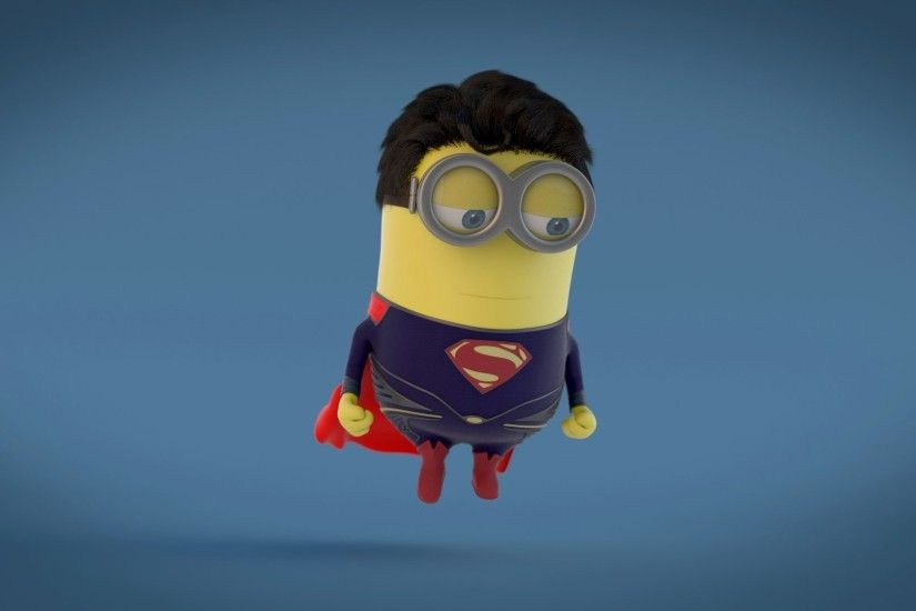 Minion HD Wallpaper 1920x1080 · Minion Superman