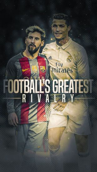 ... Messi and Ronaldo - HD Wallpaper by Kerimov23