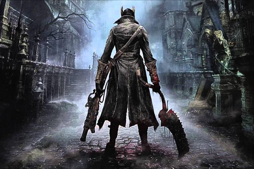 BLOODBORNE rpg action fighting gothic survival apocalyptic dark sci-fi  horror fantasy wallpaper. settings. 1920x1080