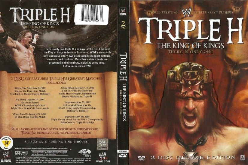 Triple H Wallpaper HD Back cover