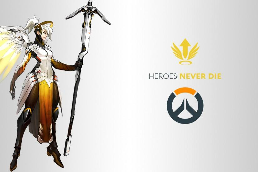 free mercy overwatch wallpaper 1920x1080