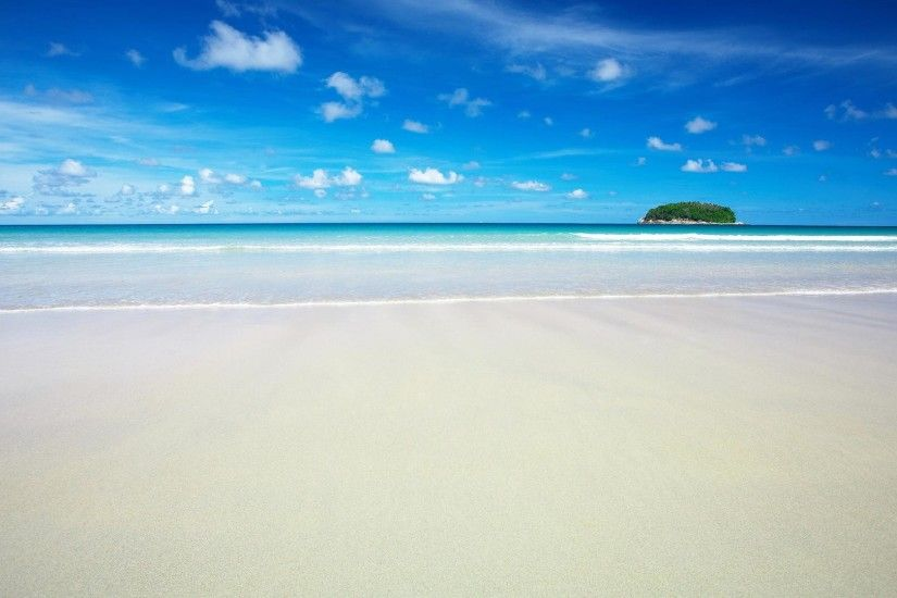 1920x1080 beach and sea in summer backgrounds wide  wallpapers:1280x800,1440x900,1680x1050 -