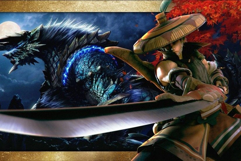 Monster Hunter 3 Ultimate Wallpapers in 1080P HD Â« GamingBolt.com .