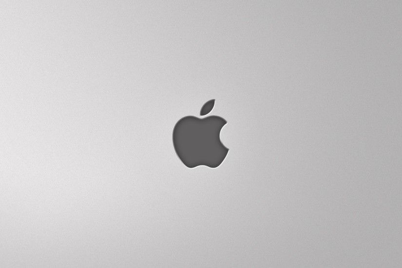 2560x1440 Wallpaper apple, mac, gray, background
