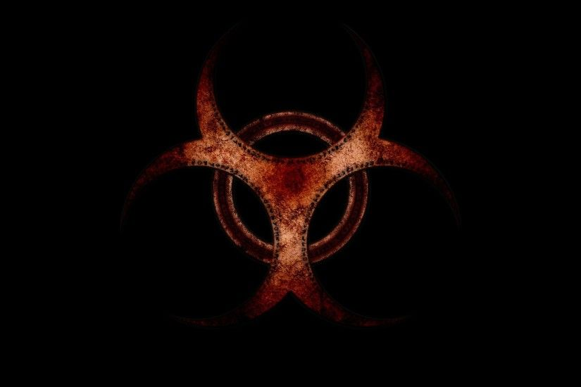 yellow biohazard danger sign 1920x1280 wallpaper High Quality .