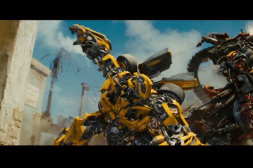 Transformers revenge of the fallen Bumblebee vs rampage and ravage (1080.