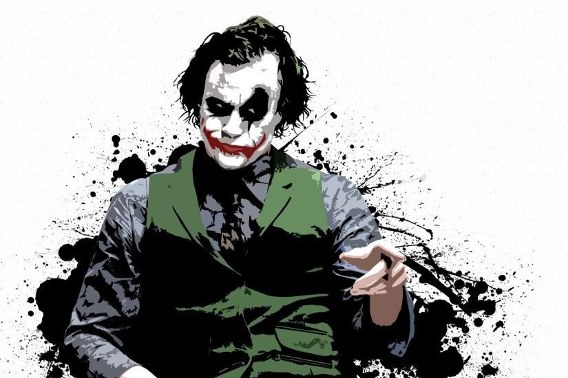 The Joker HD Desktop Background