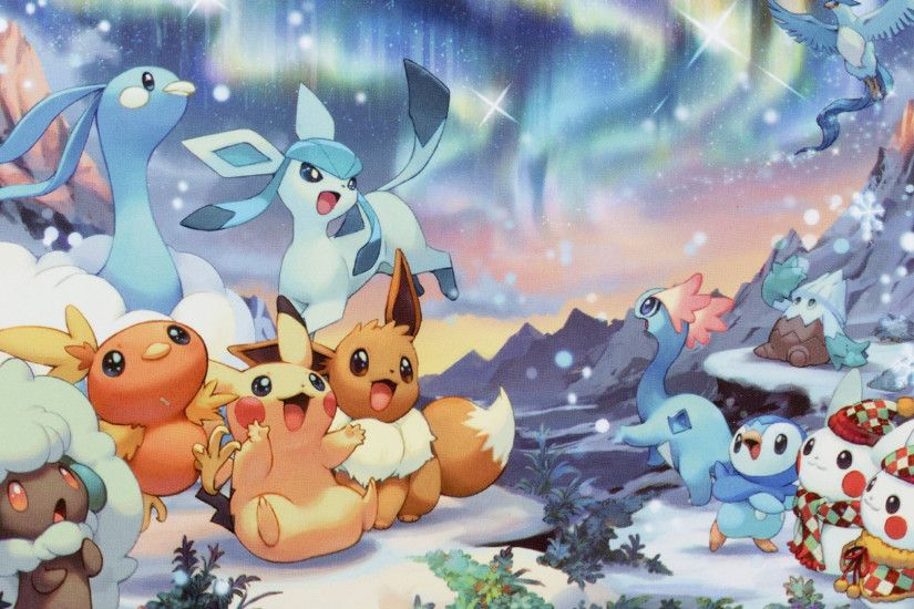 1920x1080 Pokemon Christmas Wallpaper