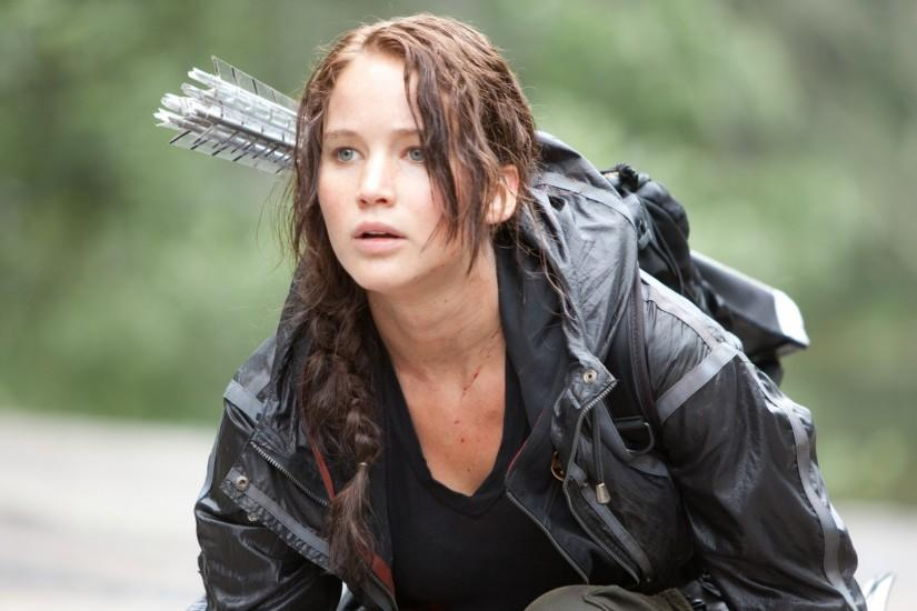 Preview wallpaper the hunger games, jennifer lawrence, katniss everdeen  1920x1080