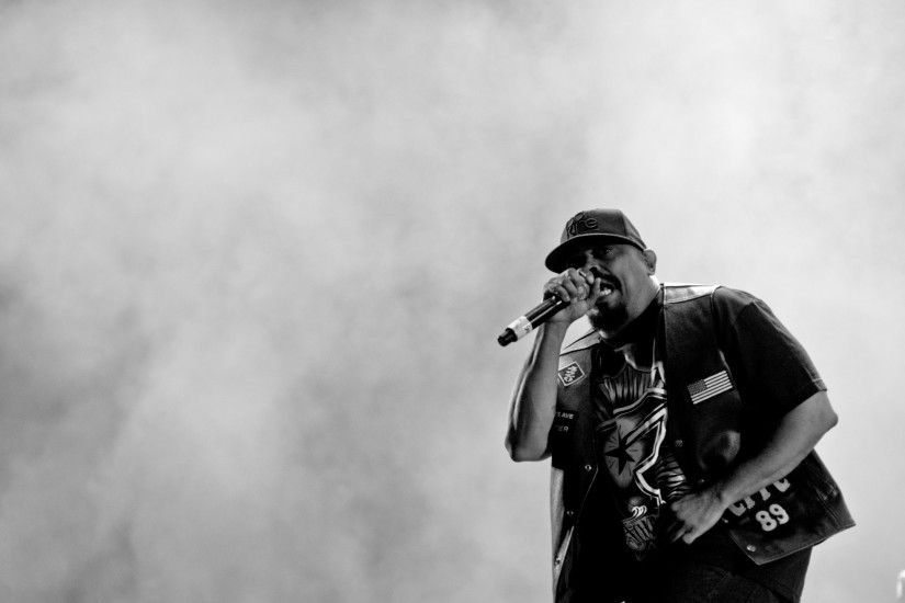 Preview wallpaper cypress hill, music, rap, hip-hop, bw, performance