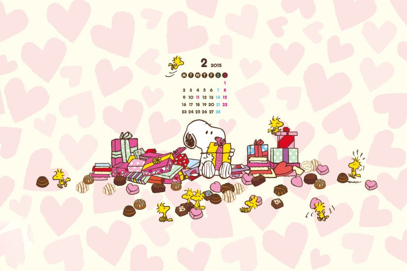 Snoopy And Charlie Brown The Peanuts Movie Wallpaper.  sukusuku_wall_2015.02_web