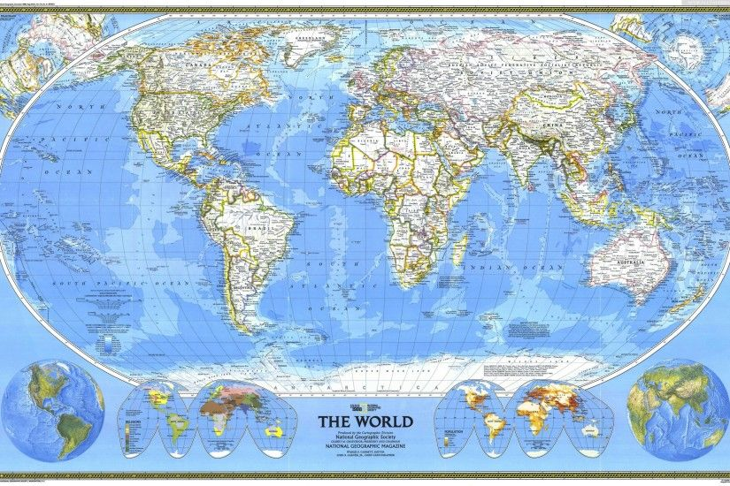 National Geographic Maps wallpaper 245609