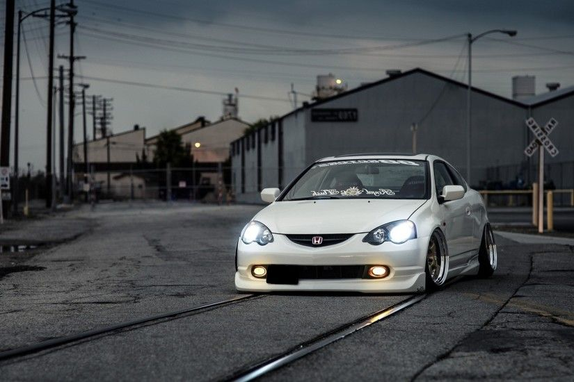 Acura RSX Type S wallpaper.