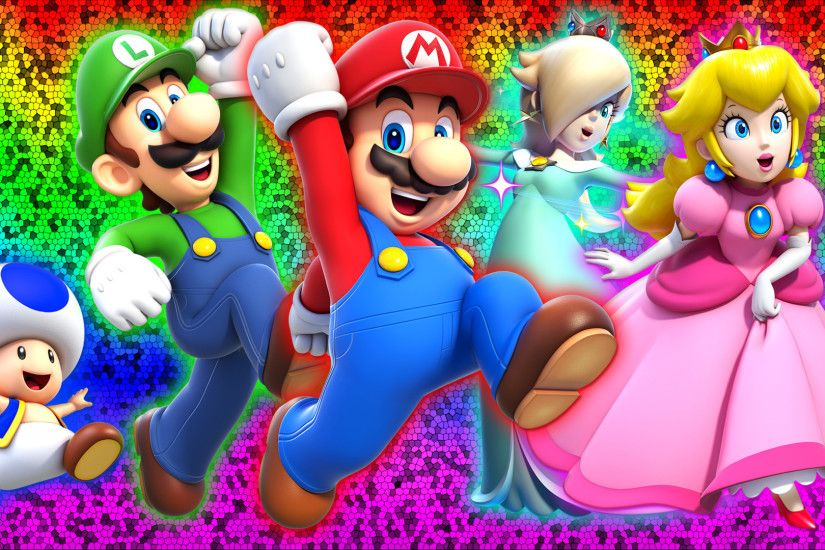 ... Super Mario 3D World Wallpaper by Glench