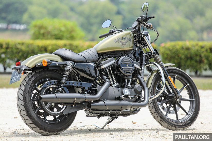 Review: 2016 Harley Davidson Sportster Iron 883 Not Your Grandfathers  Harley Davidson, Son