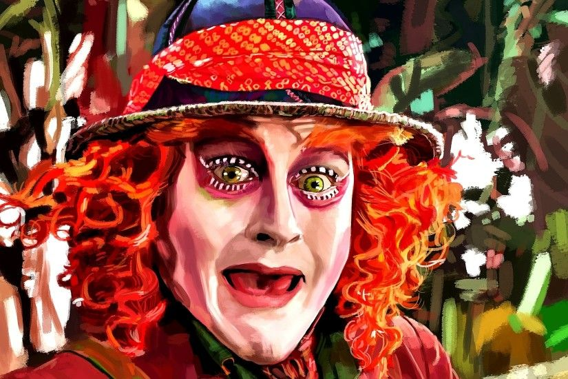 ... Johnny Depp as Mad Hatter by speedportraits